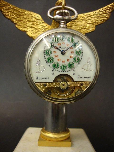767c69b46d5 Relógio de bolso antigo em prata - Ramalde