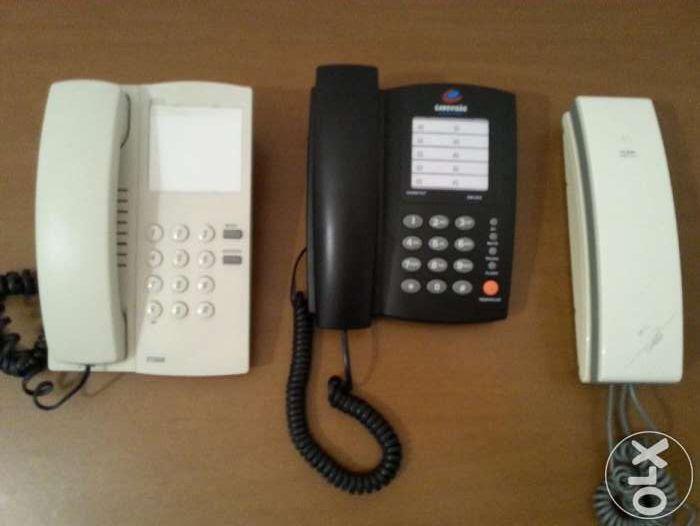 TELEFONES com fios varios modelos