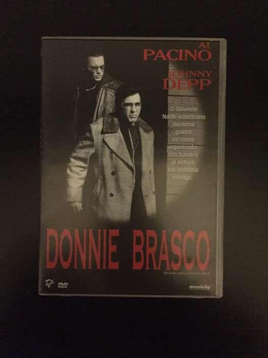 """DVD """"Donnie Brasco"""" (como novo)"""