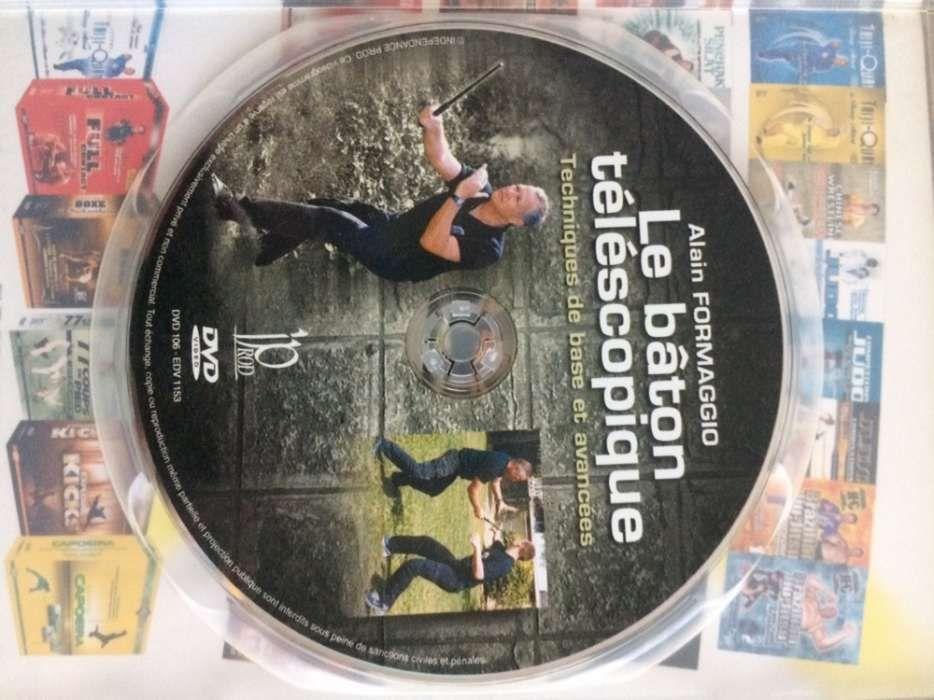 DVD de bastão artes marciais