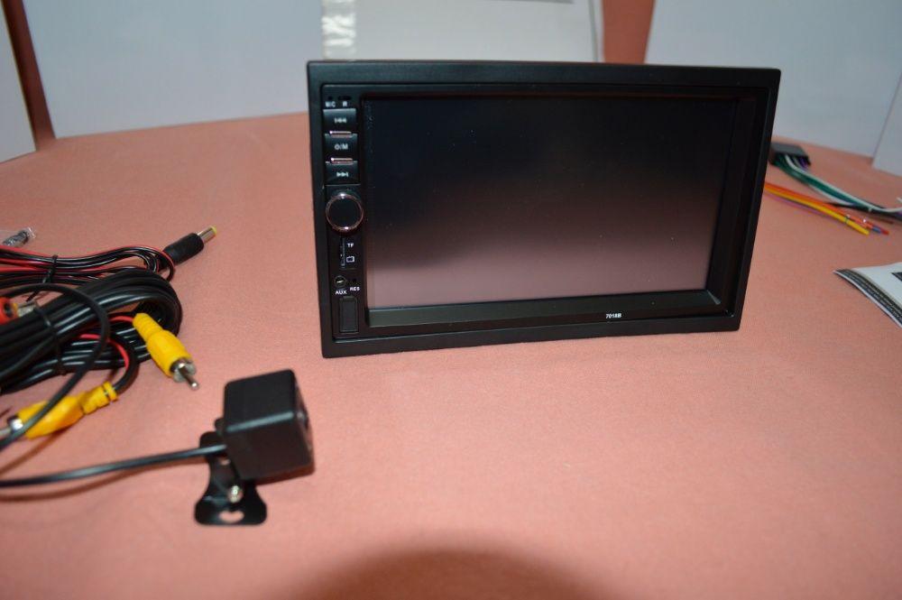 """Rádio 2DIN 7"""" Oferta Câmera + MOLDURA - Bluetooth USB Micro SD Paranhos - imagem 6"""