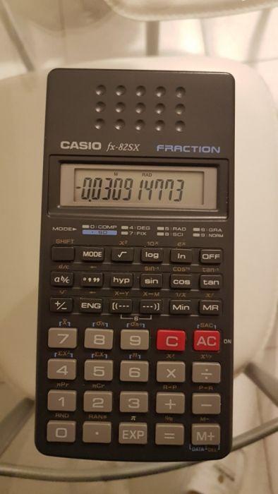 9e078da34a7 Calculadora Casio - Parque das Nações