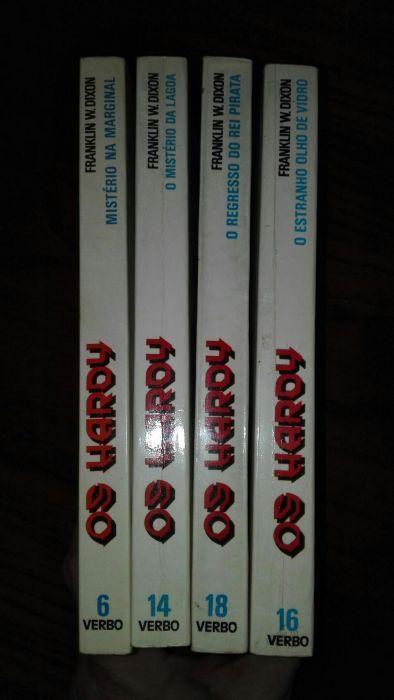 Livros da coleção Os Hardy