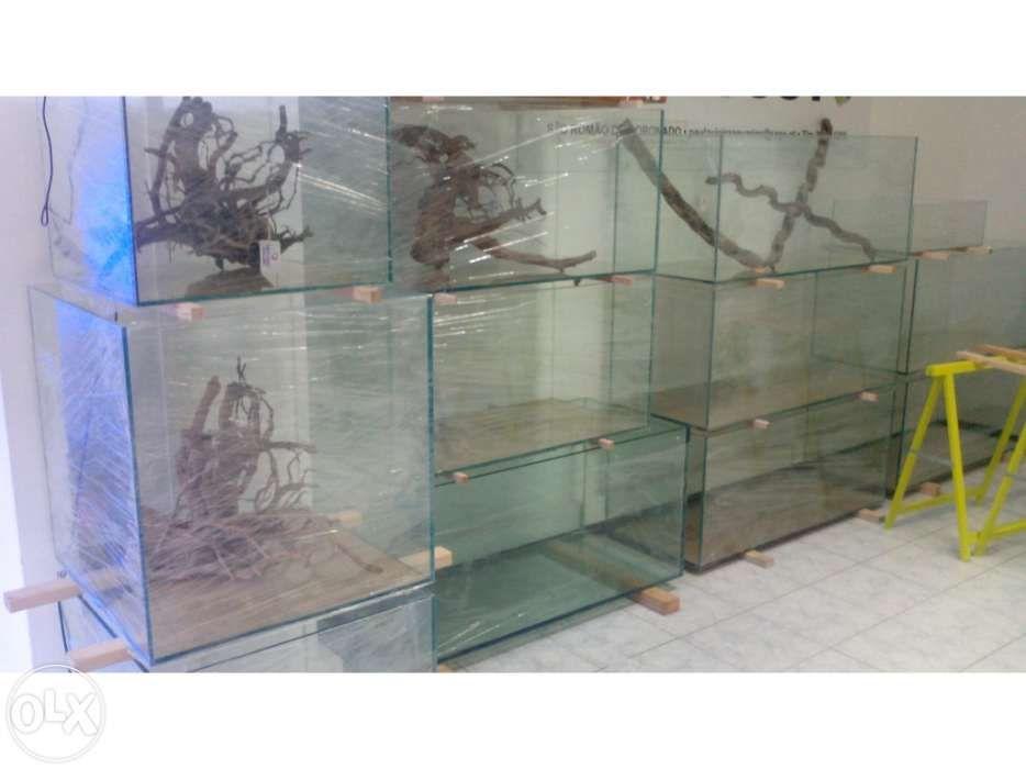 Aquario novo 150 x 50 x 50 em vidro 12mm