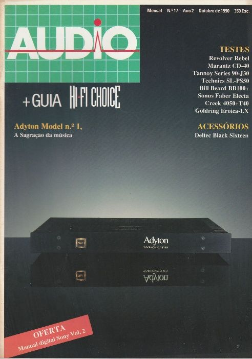 Revista Audio + Hi-Fi Choice Nº17