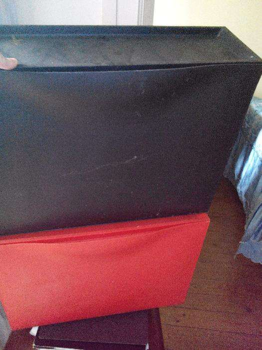 caixas para sapatos tipo gaveta