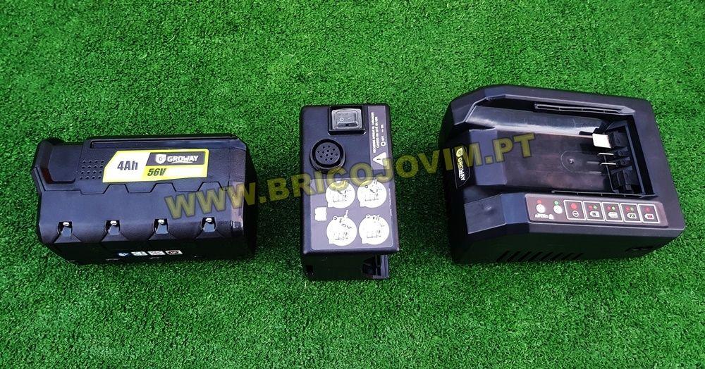 Tesoura Poda Eléctrica Bateria - Bateria 4Ah/56V - Uso Intensivo NOVAS Gondomar - imagem 6