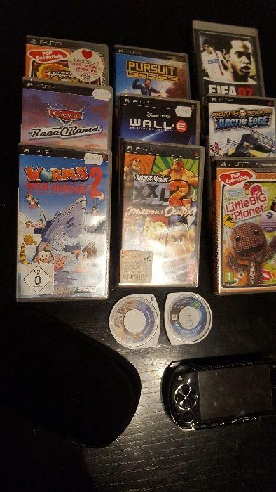 PSP + Jogos