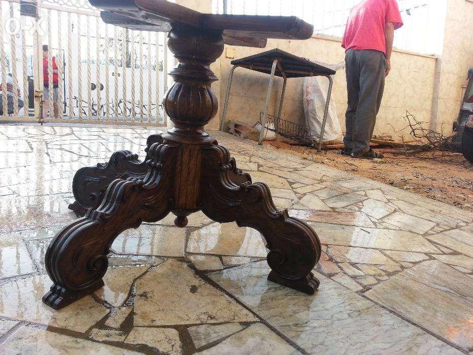 pe madeira para mesa