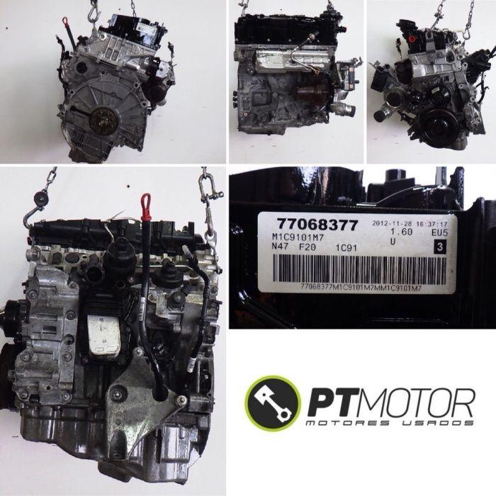 Motor Bmw 2.0d N47 f20 f30 f31 f10 f11 184cv