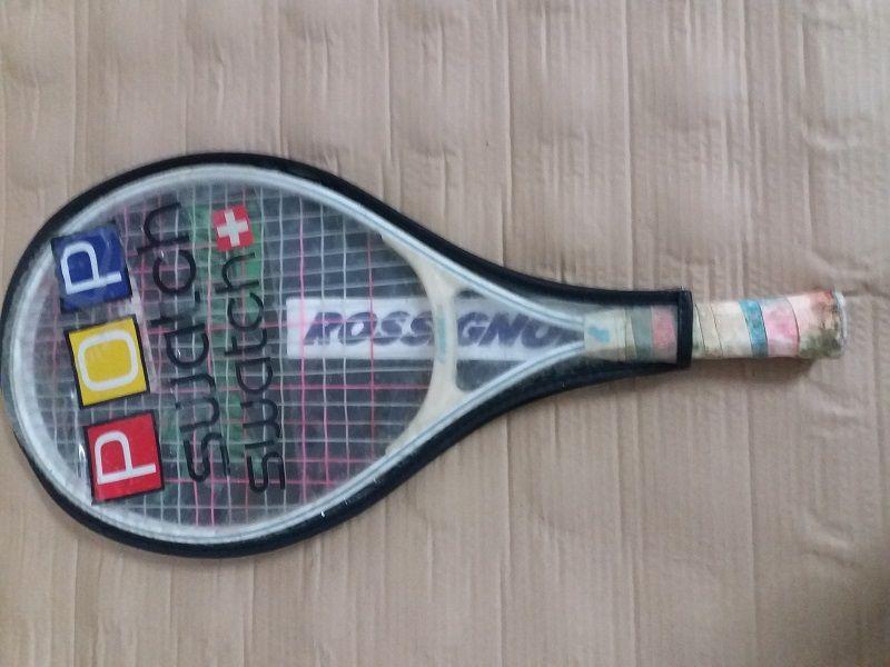 Raquetes de ténis para desocupar em bom estado
