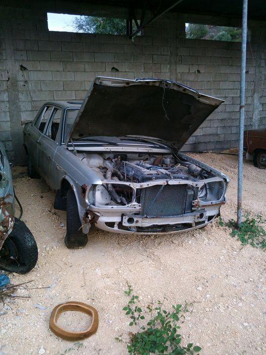 Peças Mercedes w123 280 e 230 a gasolina