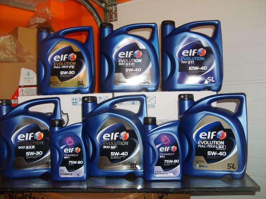 Lubrificantes ELF 5w-30 // 5w-40 // 10w-40 // 75w80