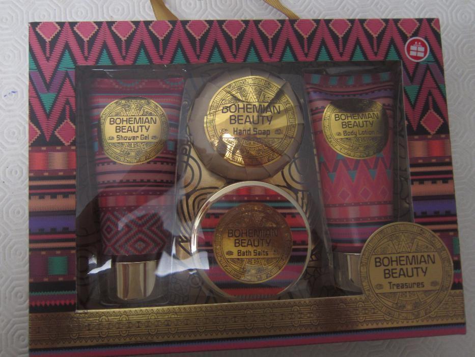 Conjunto de Beleza Wells Bohemian Beauty - Gel de Banho 100ml + Loção