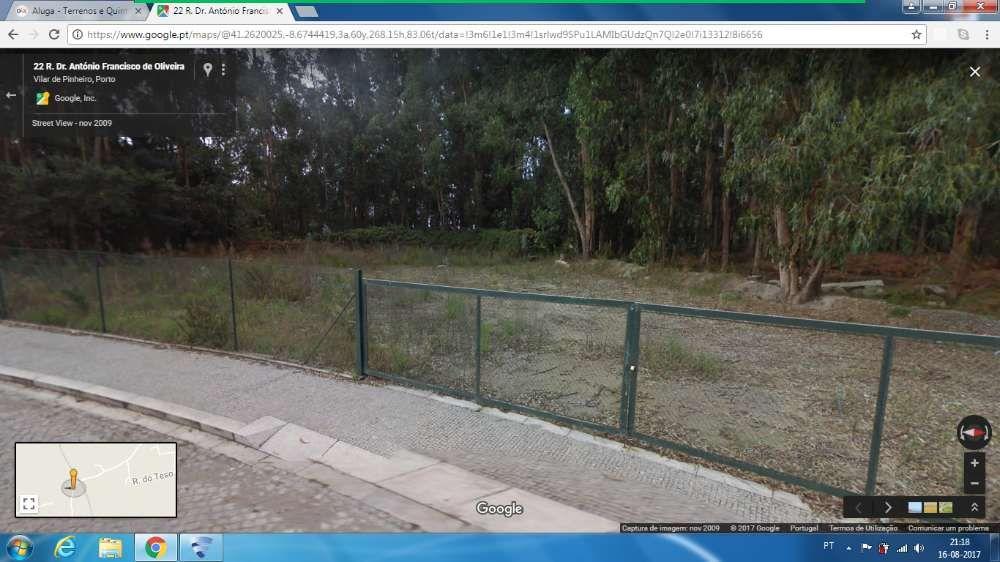 Aluga-se terreno em Vilar do Pinheiro/Vila do Conde
