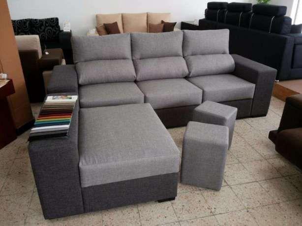 Sofá Zumba novo de fabrica com chaise longue reversível