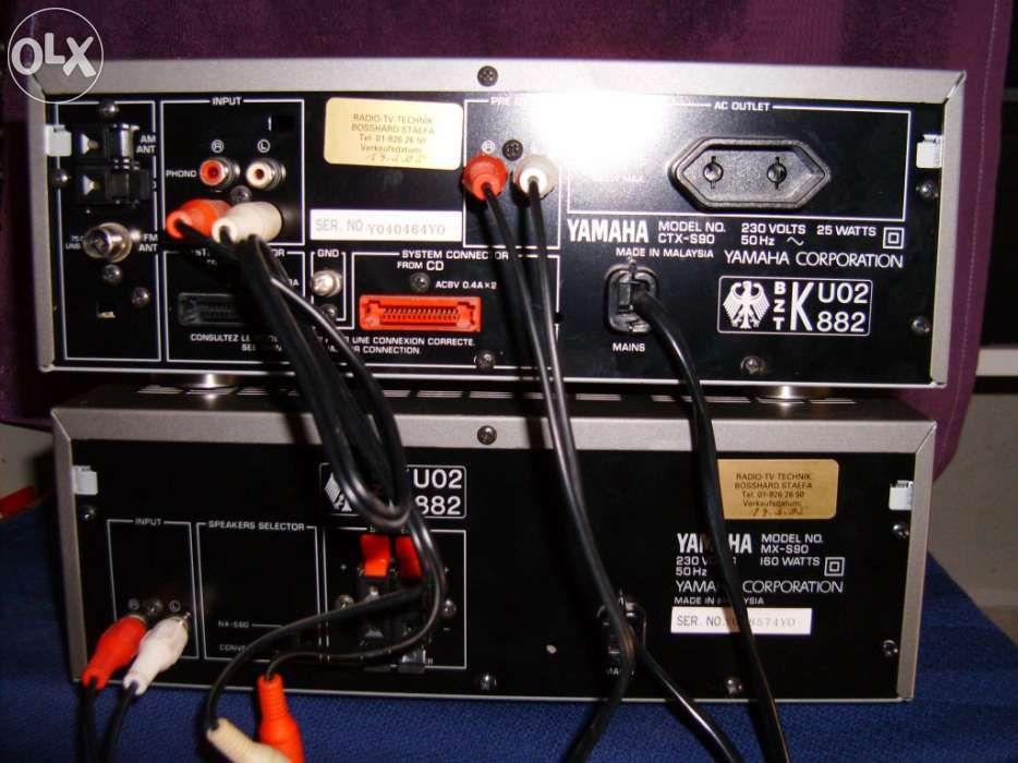 Aparelhagem Yamaha S 90 Baguim do Monte - imagem 7