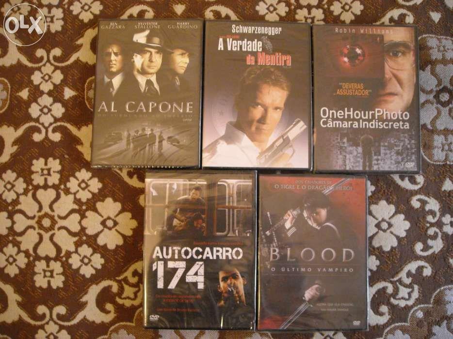 VENDO 4 FILMES ACÇÃO Em DVD(Titulos variados)