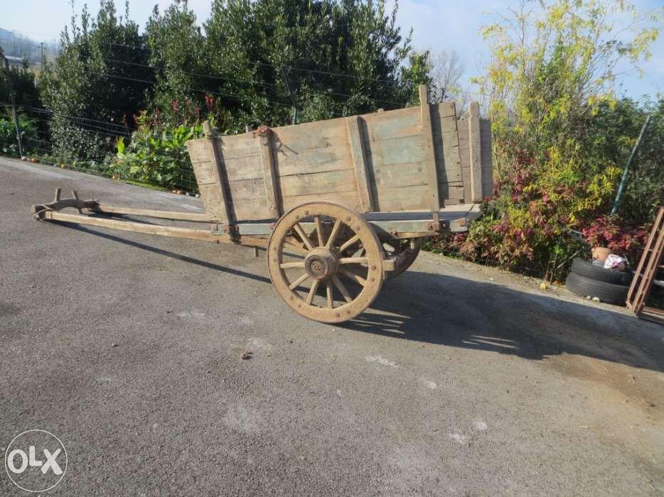 Carro de bois carro de cavalos
