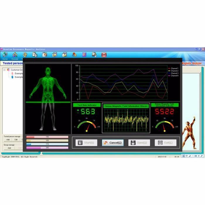 Analisador de Ressonância Magnética Quântica 6G nova Geração 2018 Prof Alvalade - imagem 4