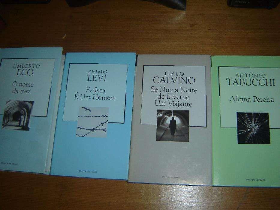 Lote de Literatura Italiana (16 livros)