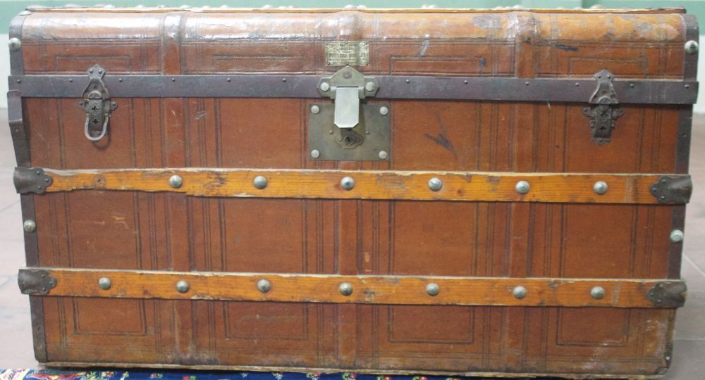 arca de madeira com charme