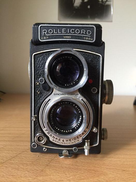 Rolleicord Vb Máquina Fotográfica TLR médio formato 120mm