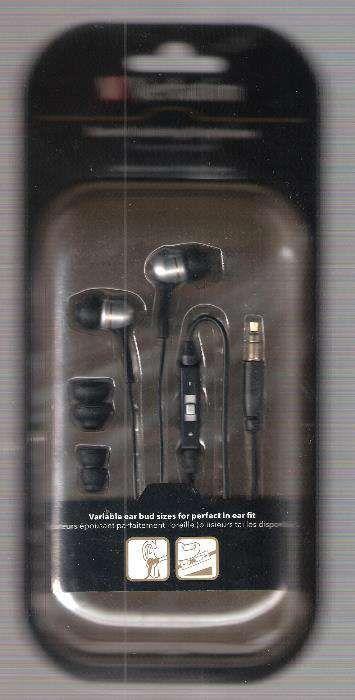 VERBATIM earphones preto MOD 41826
