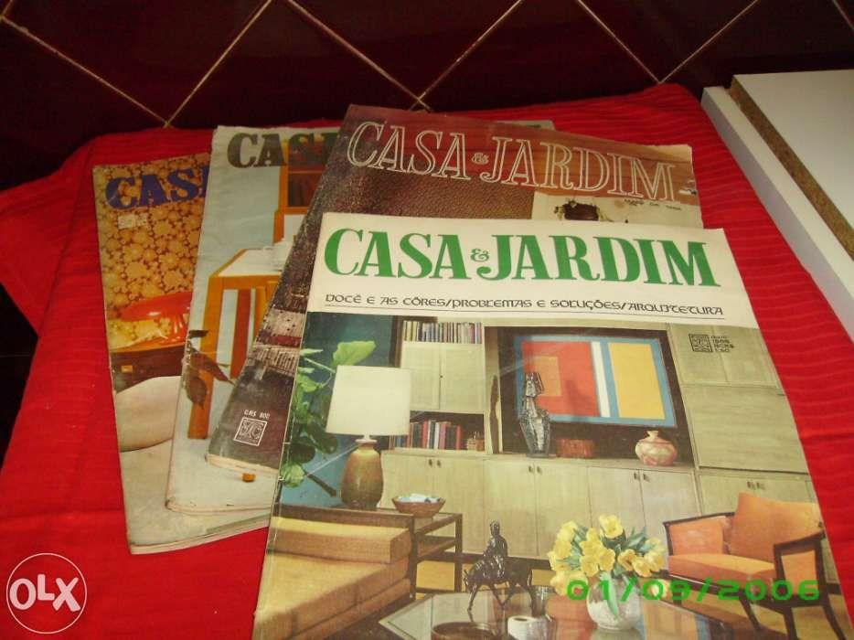 Revistas antigas Casa e Jardim de 1966 a 1970