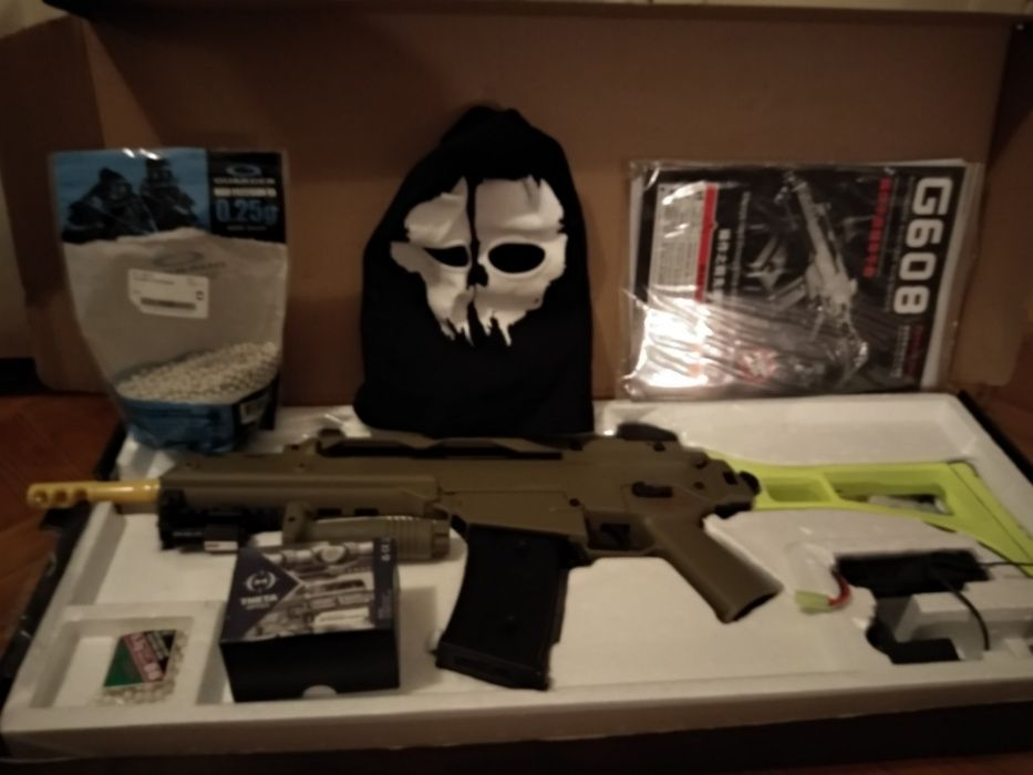 Pack Airsoft: G36 (G608)