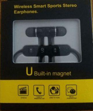 Fones via Bluetooth