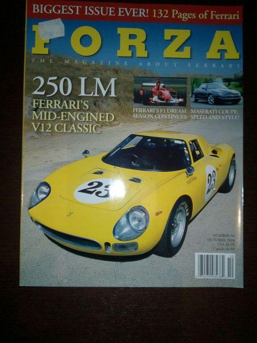 Revista Forza 56 (outubro 2004) - Ferrari 250LM