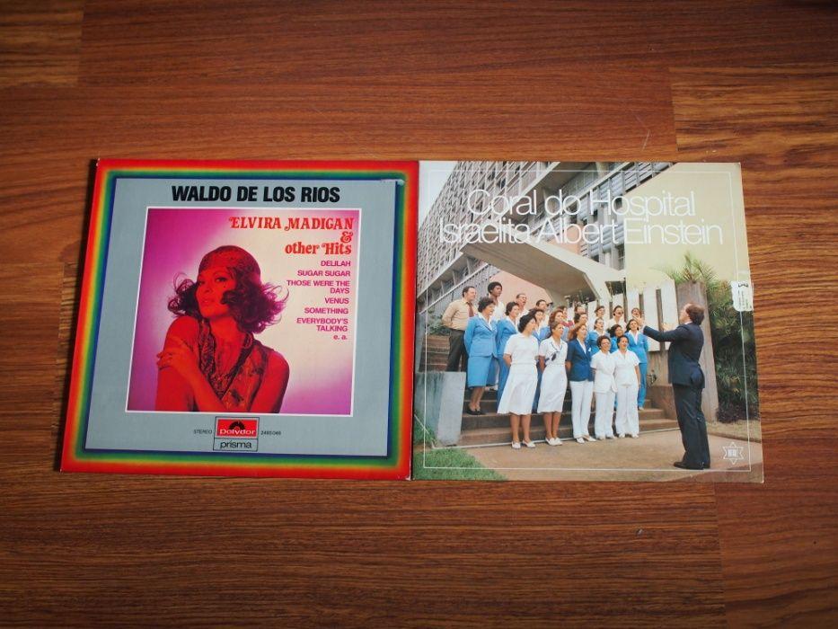 Colecção de 4 discos de vinil - anos 80