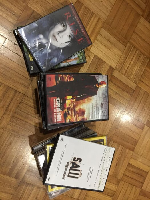 DVDs de filmes originais