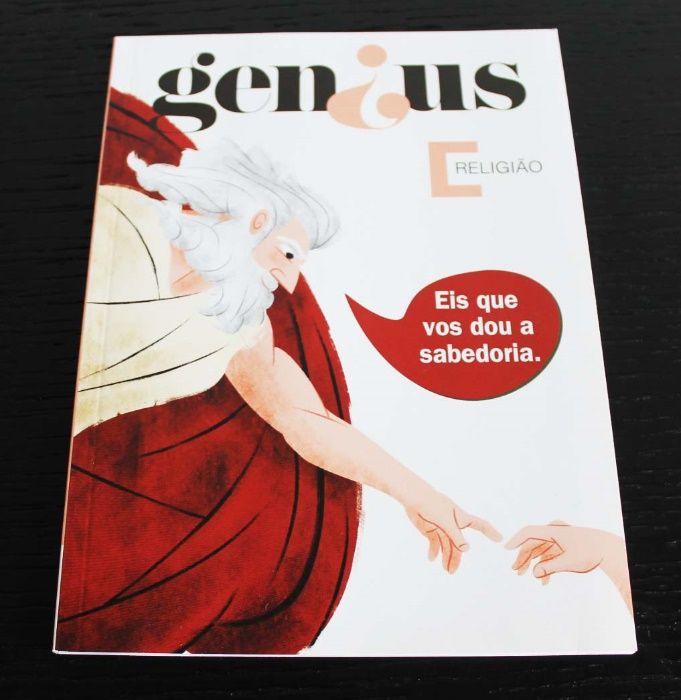"""Livro """"Genius Religião - Eis que vos dou a sabedoria"""" (COMO NOVO)"""