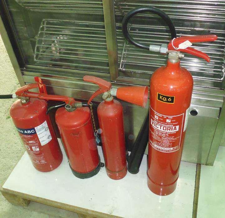 Extintores diversos