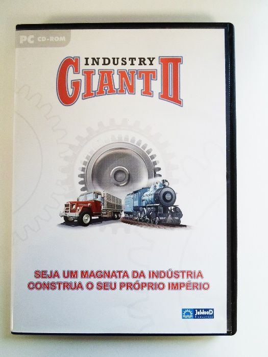 Jogo PC CD-Rom // Industry Giant 2