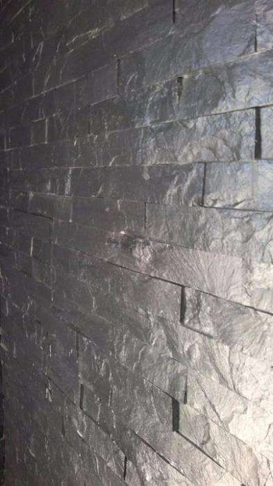Tiras pedra xisto preto Benedita - imagem 5
