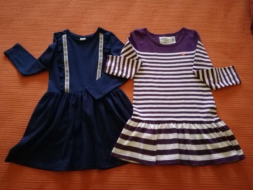 Lote Vestidos, 5-6 Anos