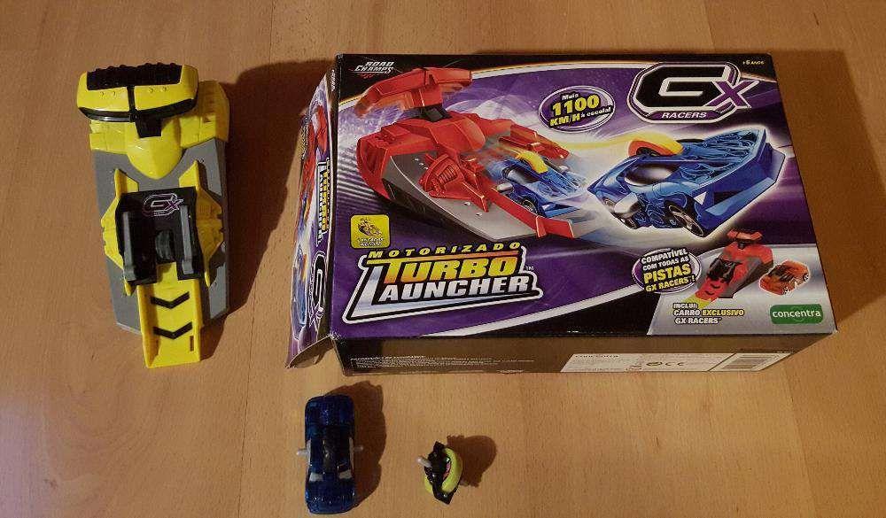 GX Racers - Turbo Launcher - superfície de lançamento