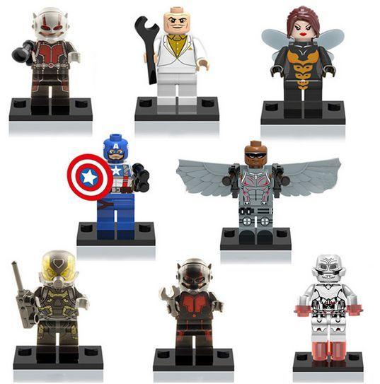 Bonecos minifiguras Super Heróis nº19 NOVOS (compativel com Lego)