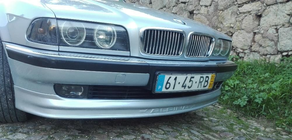 Crescente/Lip Spoiler Frontal de para-choque BMW E-38 ALPINA