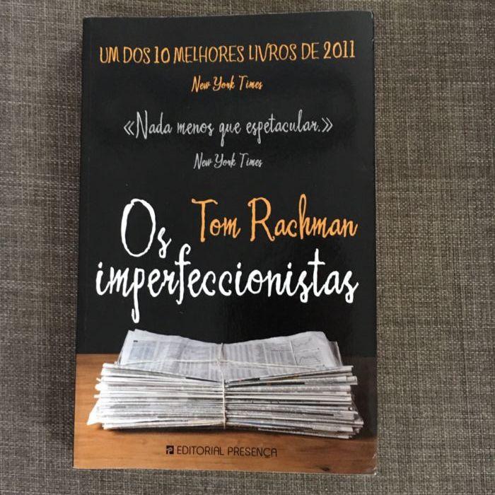Livro Os imperfeccionistas
