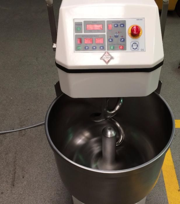 Amassadeira espiral maquinas padaria pastelaria