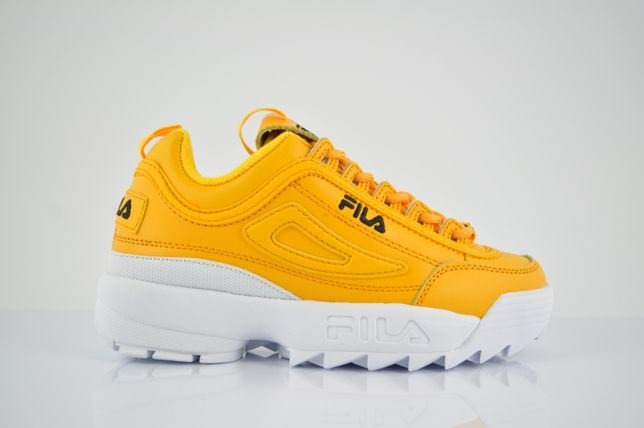 Fila W Disruptor II Premium Gold Fusion 36 żółte nowe 2