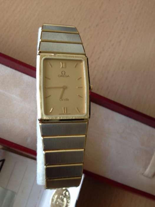 a841fad8477 Relógio Omega de Ville Quartz