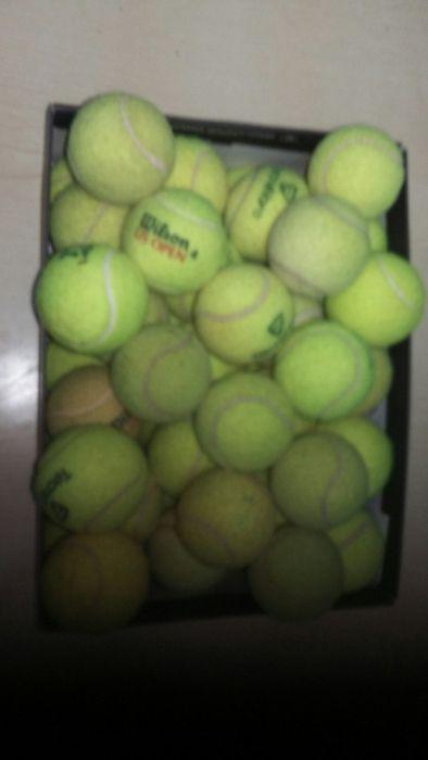100 bolas ténis /troco
