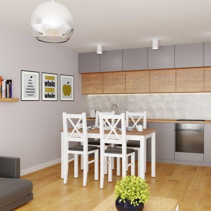 tanie krzesła i stół do kuchni