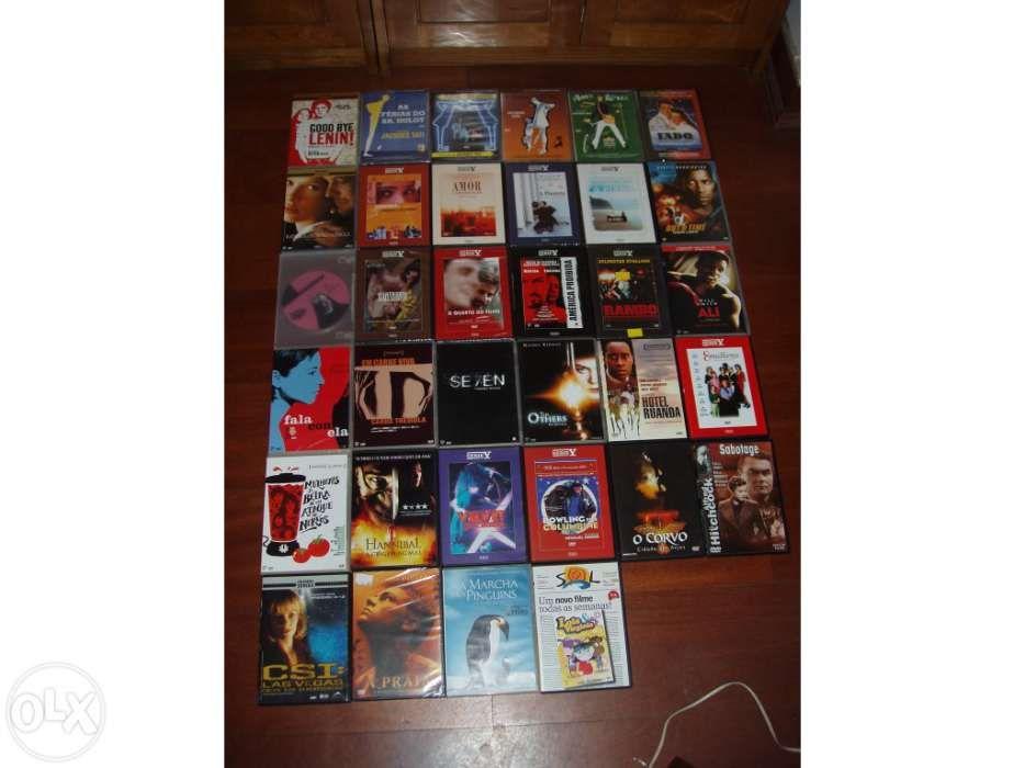 Filmes, séries e documentários em DVD