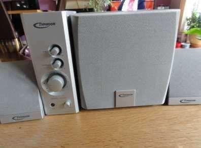 Typhoon Multimedia Amplifier - 2.1 -- 400 Watts